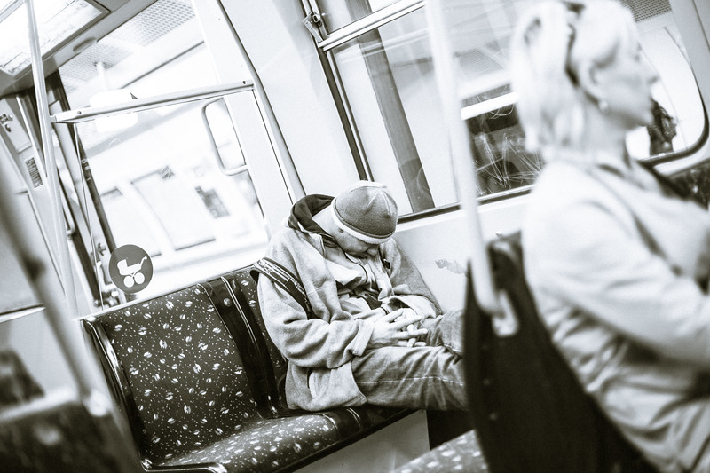 Nap in the Tube, Vienna