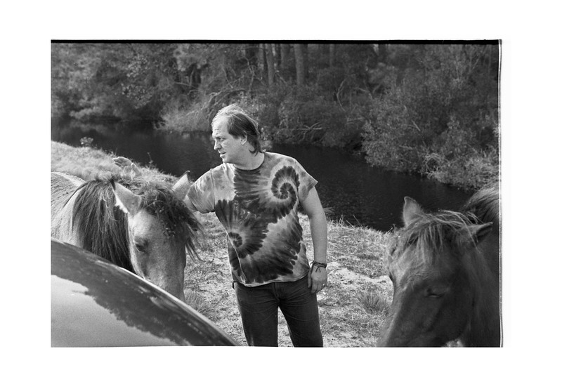 1988 November Virgina Chincoteague mj & ponies.jpg