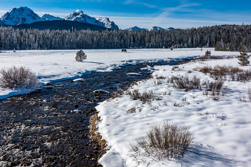Stanley Stream, Stanley, Idaho