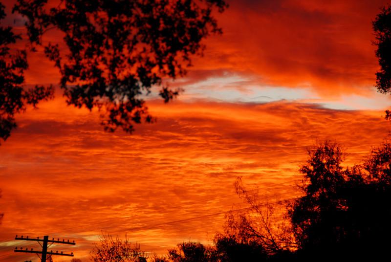 Sunrise January 4, 2010 - I