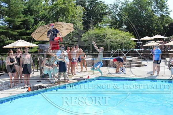 July 25 - Pool Games