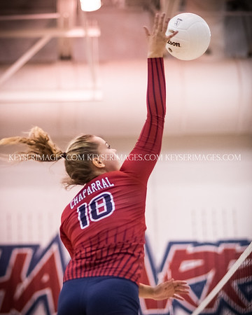 2016 HS Volleyball Chaparral vs Legend