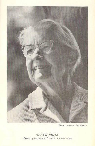 Miss Mary White
