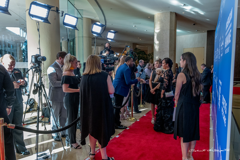 Official Red Carpet activity begins