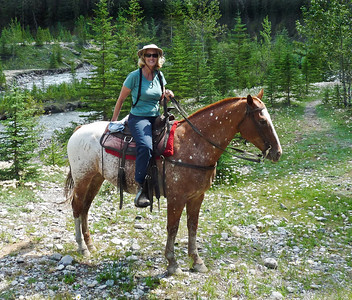 On Horseback in Banff 2012