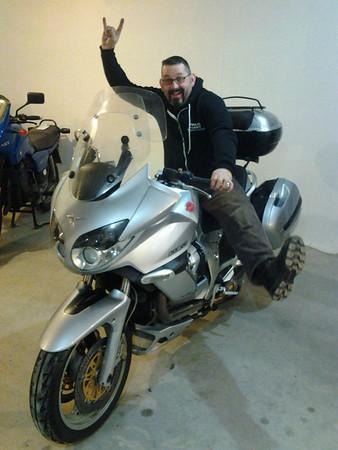 "Moto Guzzi Norge - ""the roadburner"""