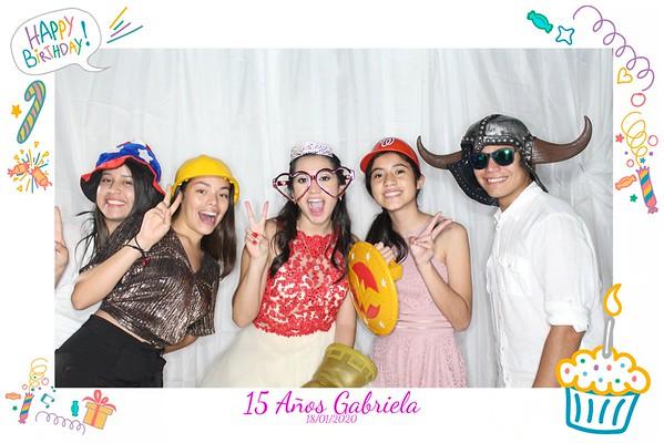 20200118 - 15 años Gabriela