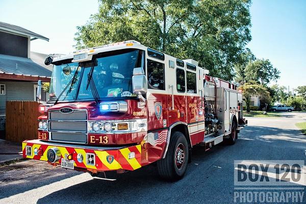 Multiple Structure Fires - San Antonio, TX - September