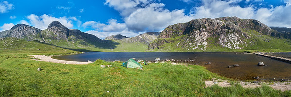 Wild camping and Hill walking