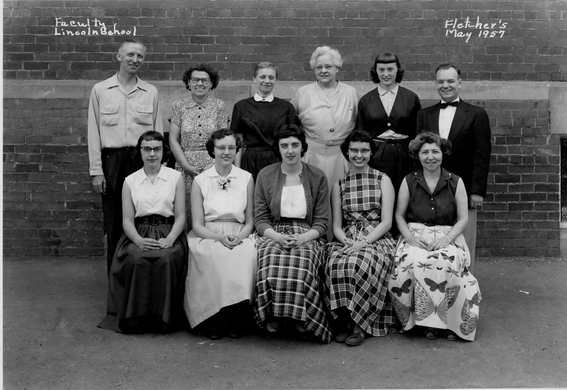Faculty Lincoln 1957