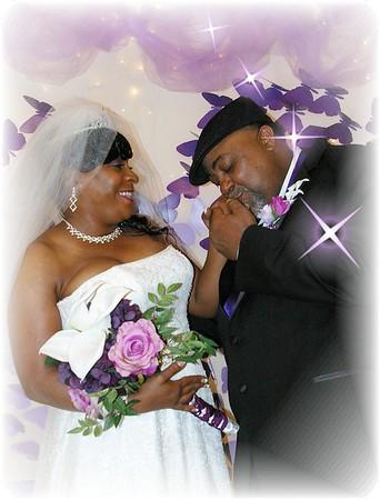 Mr. Roman & Mrs. Balinda Brown Wedding Day...