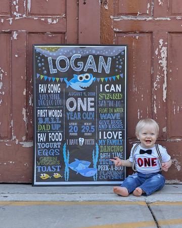 Logan Smallwood Turns 1