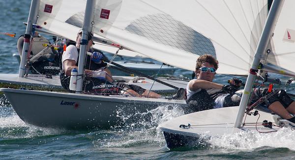 September 2 Laser Sailing