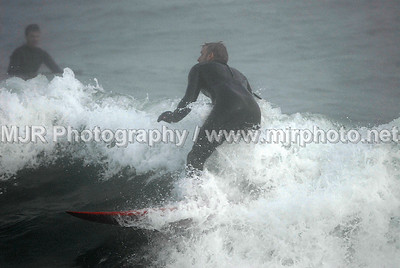Surfing, Gilgo Beach, NY,  (5-9-07)