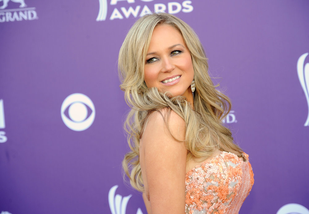 . Singer Jewel arrives at the 48th Annual Academy of Country Music Awards at the MGM Grand Garden Arena in Las Vegas on Sunday, April 7, 2013. (Photo by Al Powers/Invision/AP)