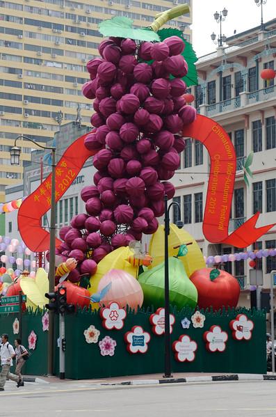 The importance of chilli - Chinatown, Singapore