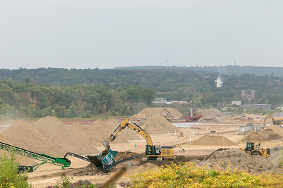Work at Airport in Fitchburg, Oct. 2, 2019