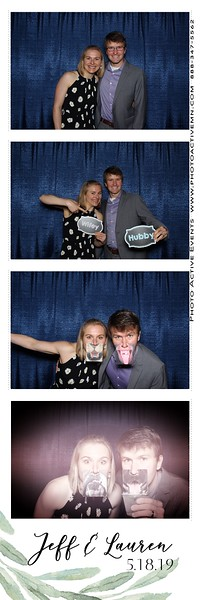 2019-05-18 Pepin WI Wedding Photo Booth