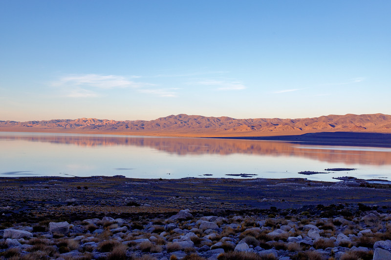Walker Lake at Sunset