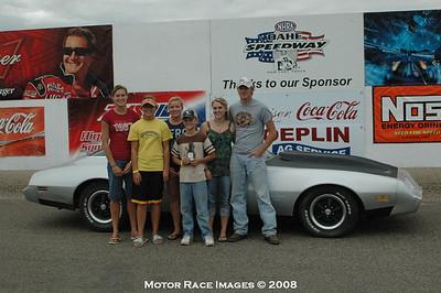 Winners Circle Sept 1, 2008