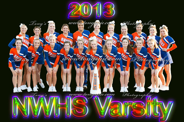 Varsity Cheerleaders @ Heritage 4 Oct 2013