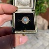 1.97ctw Antique Cluster Ring, GIA G SI2 61