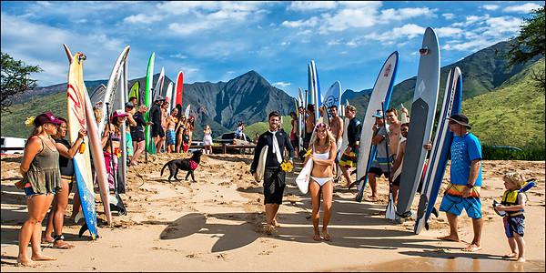 Casey & Sarah Wedding Album | Maui