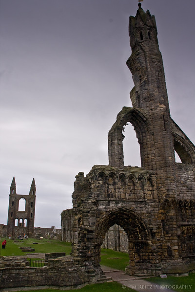 Ruins of St. Andrews Cathedral.
