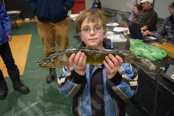 Tremont Consolidated School ice fishing derby
