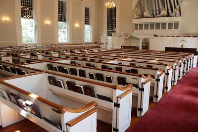 Historic church architecture