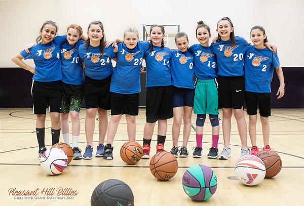 Pleasant Hill Girls 5th Grade Basketball