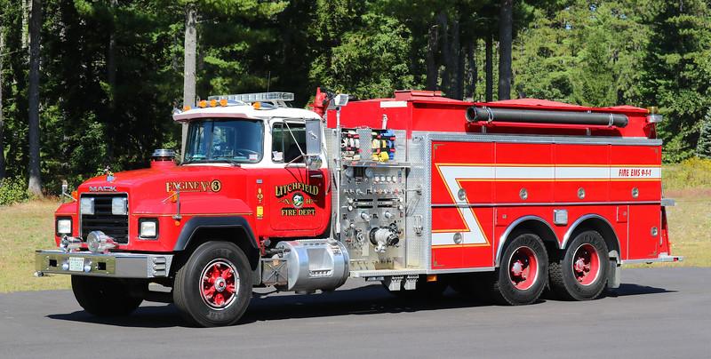 Engine 3.  1991 Mack R / KME.  1250 / 2500