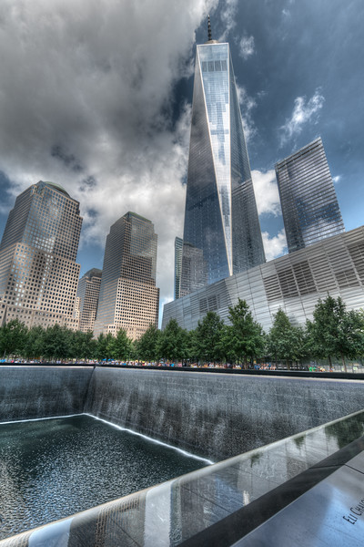 9/11 Memorial - New York, NY, USA - August 19, 2015