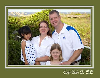 Kesler Family 2012