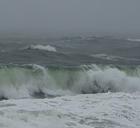 Beach Plum Island and  Waves April 14-15 2018