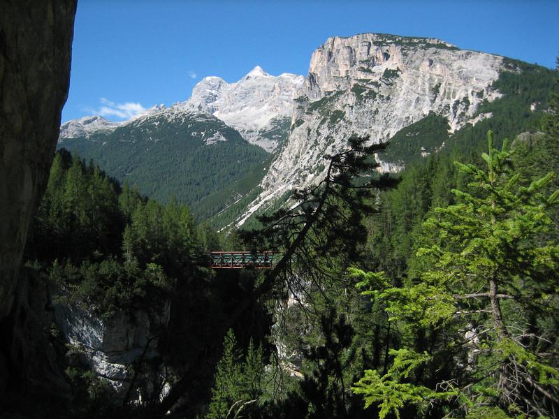 7_31 3 bike path between Cortina and Cimabanche pass.JPG