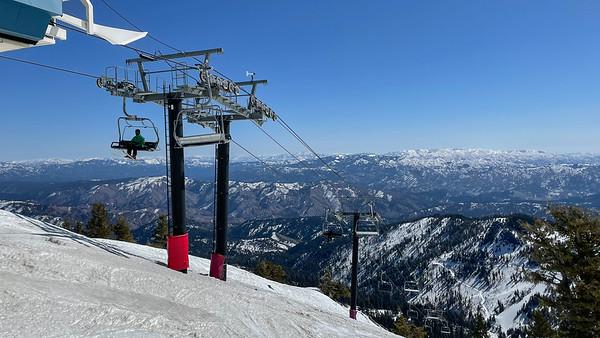 70th Birthday Ski Trip- Part 1; Idaho/Brundage/Tamarack/Bogus Basin