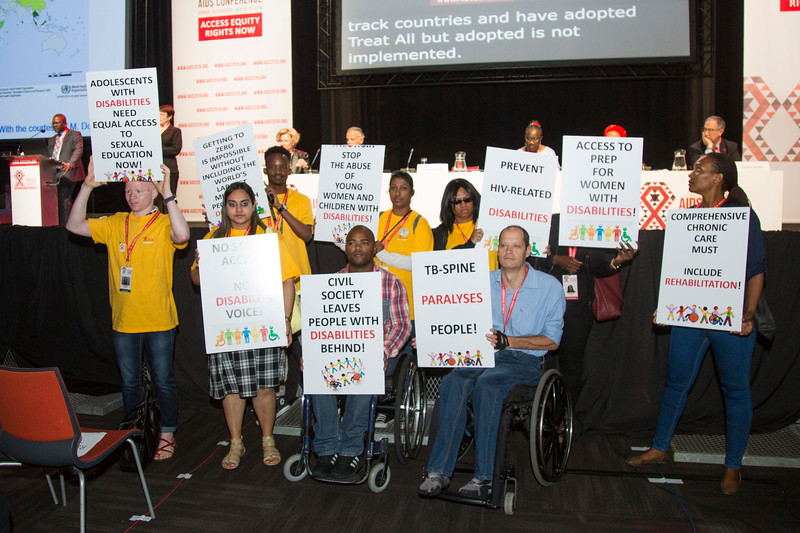 21st International AIDS Conference (AIDS 2016), Durban, South Africa. How do we get there? (FRPL01) Award Presentation: Global Pediatric Antiretroviral Commitment-to-Action  Luiz Loures, UNAIDS, Switzerland speaks, 21 July, 2016. Photo©International AIDS Society/Rogan Ward