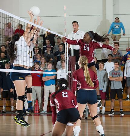 11/9/16: Varsity Volleyball v Choate