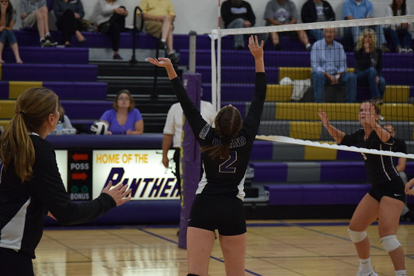 Durand Varsity volleyball quad hosted Sept. 4, 2018