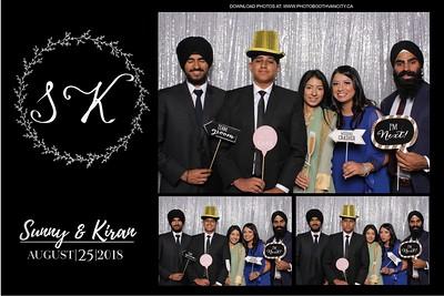 Kiran & Sunny's Wedding Reception
