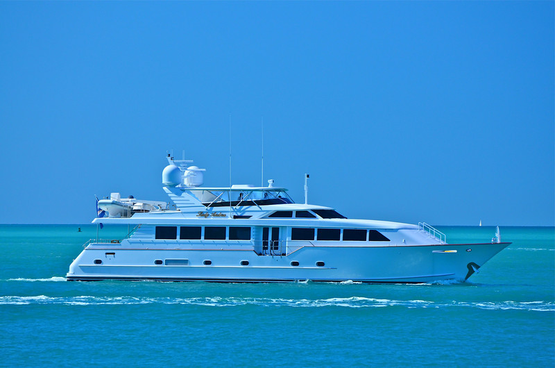Personal yacht.