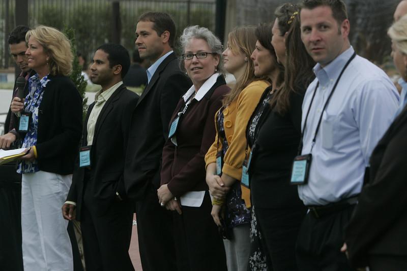 SNS/FiRe staff and interns: (L-R) Sharon Anderson-Morris, Debarshi Das, Matt Keller, Sally Anderson, Berit Anderson, Sam Leigh, Lynne Mercer, Brent Morris, and Kelly Webb