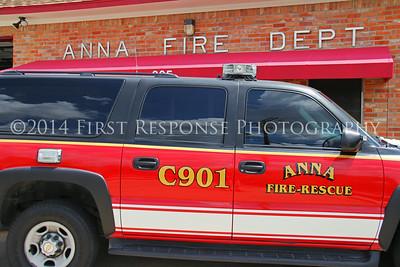 Anna, TX,  Command Vehicles