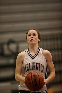 Darlington Varsity Girls Basketball 1-20-2006