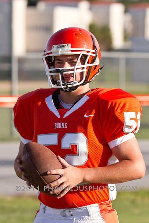 Boone Varsity Football #52 - 2011