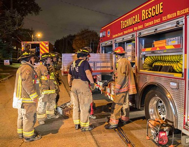 October 26, 2019 - Trench Rescue - 225 Northwood Dr.
