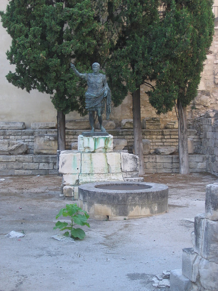 More Roman ruins. Location - Nimes