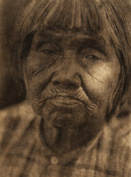 A Yuki woman (The North American Indian, v. XIV. Norwood, MA, The Plimpton Press, 1924)