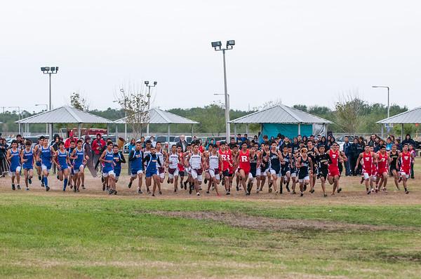 October 27, 2012 - Varsity Cross Country - Boys